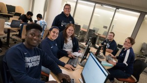 LVC students utilizing the Center for Academic Success.
