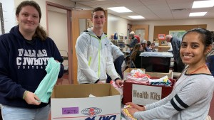 Lebanon Valley College student serve at Mission Central HUB Cleona
