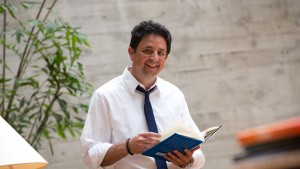 Jeffrey Robbins, professor of religion, is the chair of the religion and philosophy programs