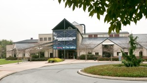 The Sports Center is located on the north side of campus and home to 23 sports teams at LVC