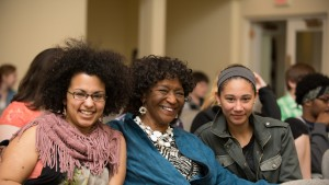 Students attended a religion and philosophy lectured during LVC's annual celebration of student success, Inquiry