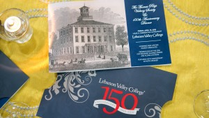The Thomas Rhys Vickroy Society 150th Anniversary Dinner