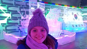 Kristy Sonberg visits Hwacheon Ice Fishing Festival in South Korea