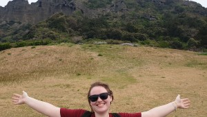 Kristy Sonberg at Jeju Island in South Korea