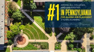 Lebanon Valley College was named best college in Pennsylvania and #4 in the U.S. for getting a job