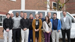 Lebanon Valley College Physics majors partake in an academic field trip to Penn State