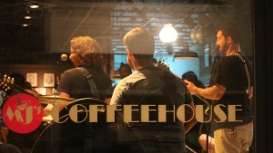 Students perform at LVC's Coffeehouse Series at MJ's Coffeehouse