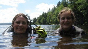 LVC Environmental Science majors conducted a study in the Adirondacks