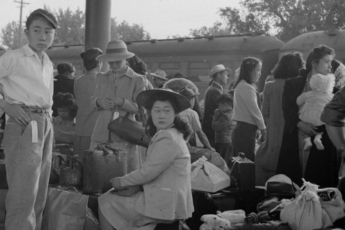 Dorothea Lange photo of Japanese family is part of the upcoming exhibit at Arnold Art Gallery.
