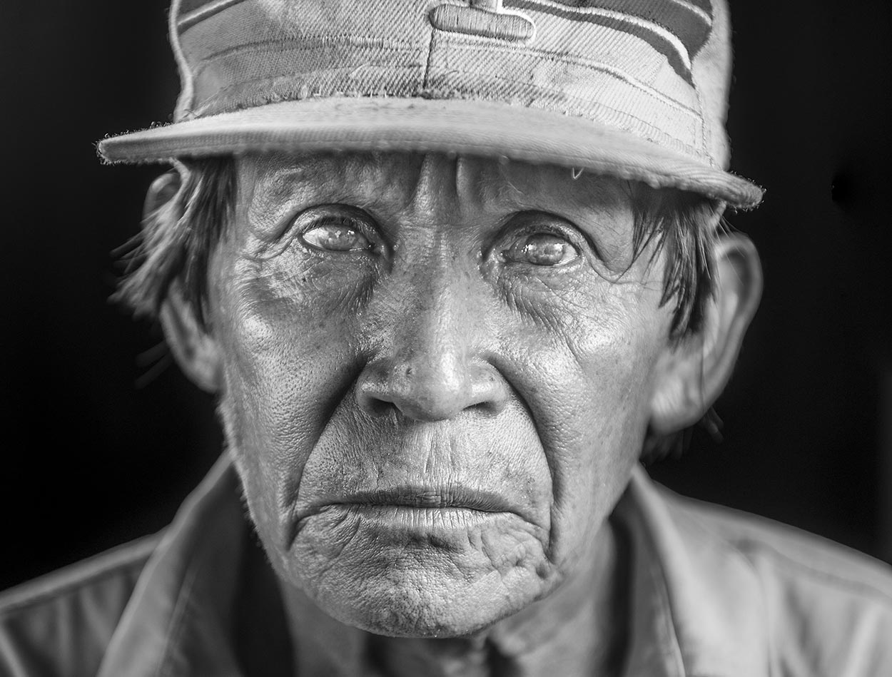 Photography workshop black and white portraits capturing the human presence