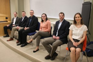 LVC Actuarial Science Alums speak to current students