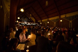 Members of the LVC community attend Christmas at The Valley