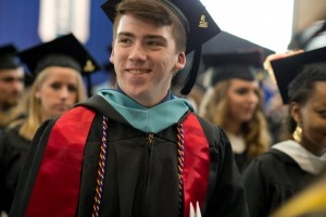 Music major Blace Newkirk graduates from Lebanon Valley College