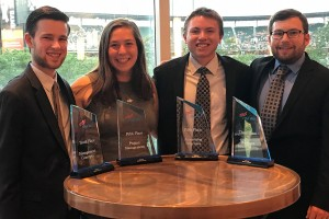 Lebanon Valley College students placed in the top 10 at a national business conference.