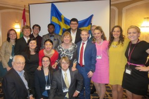 LVC students attend the annual European Simulation in Washington, D.C.