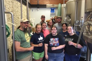 LVC students work with Snitz Creek Brewery to create Flying Dutchmen Ale