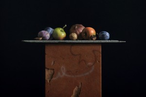 G. Daniel Massad, Plenty, 2012, pastel on paper, 22 x 21 1/2 inches, private collection.