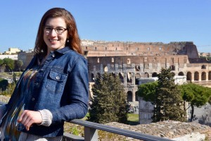 Lebanon Valley College physical therapy major Paige Brocato completes her clinical in Italy
