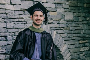 Josh Eaton received his master's in athletic training from Lebanon Valley College