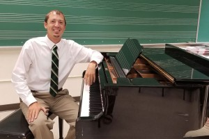 Music teacher Charlie Hopta earned a music education degree from Lebanon Valley College