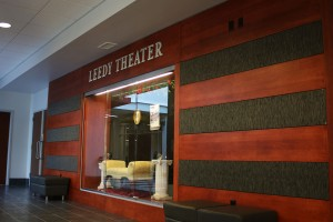 Lebanon Valley College's Leedy Theater, the 200-seat space is home to the College's Wig and Buckle Theater Company, will undergo a revitalization.