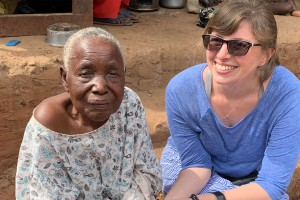 Betty Ross is using her music business and digital communications degrees in her job in Uganda