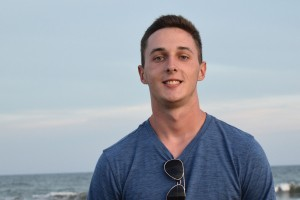 Adam Salazer received a job offer before finishing his MBA in Lebanon Valley College's accelerated accounting program