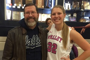Lebanon Valley College student Lexie Lantz and her mentor Mark Stout