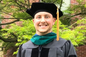 Lebanon Valley College physical therapy graduate Dakota Strohl