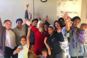 Neuroscience and psychology major D'anna Sydow completes internship in South Africa.