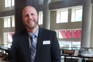 Lebanon Valley College English graduate Tony Gorick now works at the Lancaster Chamber.