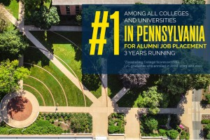 Lebanon Valley College ranked #1 in PA for jobs