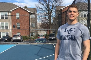 Lebanon Valley College graduate Marcus Brown is pursuing a 3+2 engineering degree.