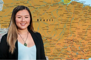 Spanish and English double major Rachel Duong '19 will travel to Brazil for a year as an English teaching assistant as a Fulbright Finalist.