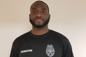 Jermaine McQueen now works as a probation officer after graduating from Lebanon Valley College with a degree in criminal justice.