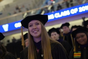 Lebanon Valley College neuroscience graduate Peyton Carper graduated at the top of her law school class.