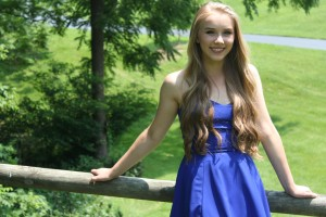 LVC student Olivia Ward poses for a photo