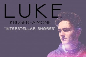 "Cover art for Luke Kruger-Aimone's single ""Interstellar Shores"""