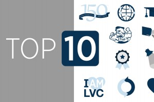 Lebanon Valley College Top 10 of 2016 graphic