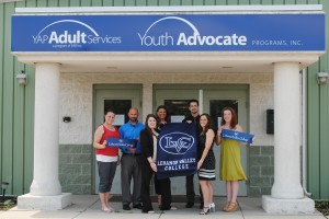 LVC students work with the Lebanon County's Youth Advocate Program