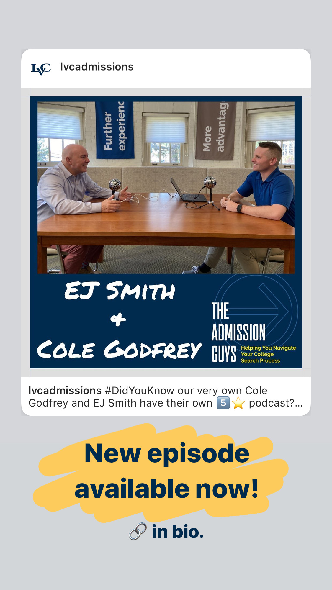 Admission Guys Podcast