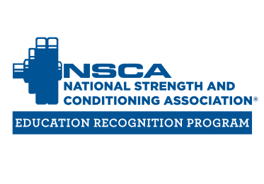 National Strength and Conditioning Association: Education Recognition Program Blue Logo